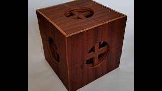 Insanely Complicated Wooden Puzzle Box