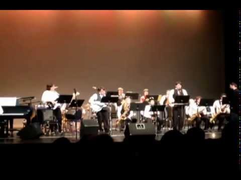 "Volusia-Flager Middle School Honors Jazz Band Performs ""A Little Blues, Please"""
