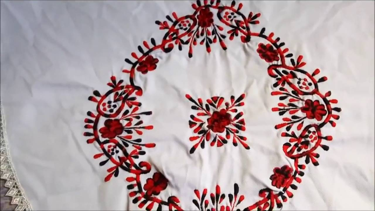 Simple hand embroidery designs for tablecloth - Simple Embroidery Designs By Hand