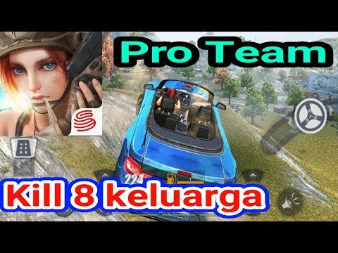 Ini team gege bener anjay!!  Squad PRO! Rules Of Survival