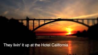 Eagles   Hotel California Lyrics