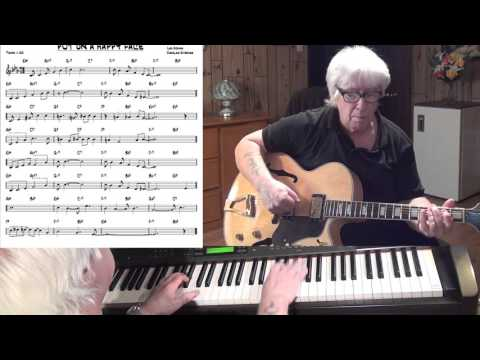 PUT ON A HAPPY FACE - Jazz guitar & piano cover ( Lee Adams & Charles Strouse )
