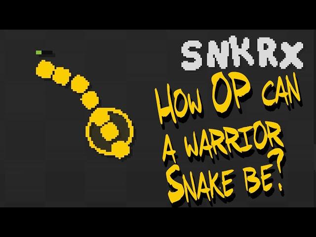 Making an OP Warrior Snake Build [SNKRX]