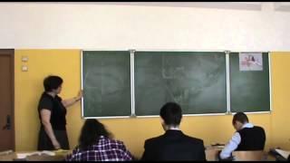 Урок черчения в 9А классе. ГБОУ СОШ № 1924