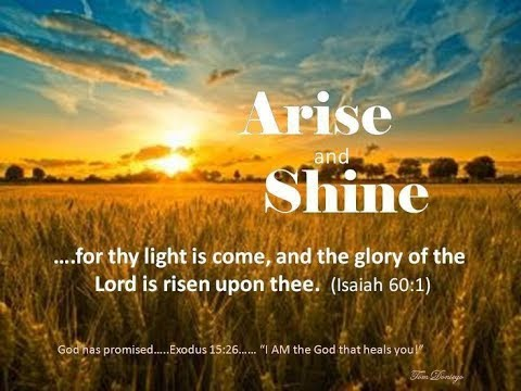 Word for Today: Isaiah 60 - YouTube