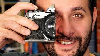 Câmera analógica x Jato d