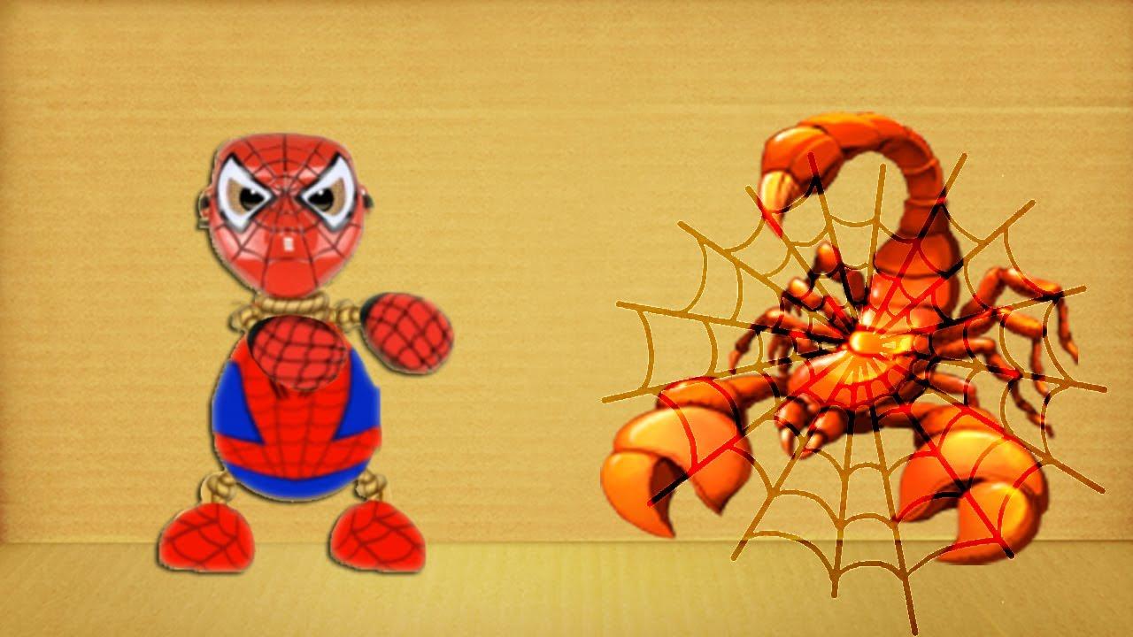 Spider Man vs Scorpion Kick The Buddy