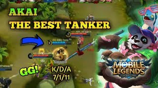 Akai The Best Tank In Mobile legends