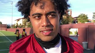 USC Fall Camp Day 1 - RB Vavae Malepeai