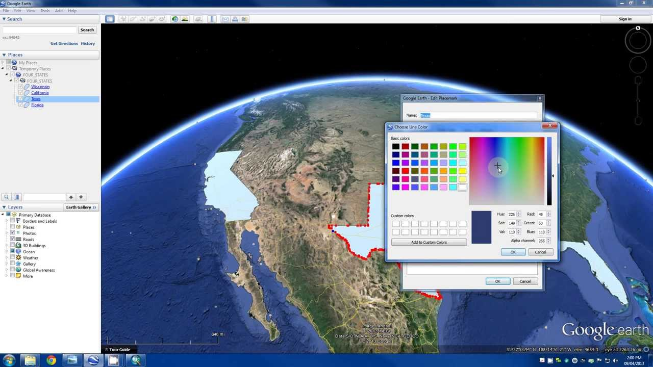 Arcgis tutorial convert layers to kml to use with google earth youtube arcgis tutorial convert layers to kml to use with google earth sciox Choice Image