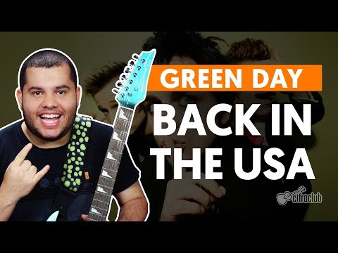 BACK IN THE USA - Green Day (aula de guitarra)