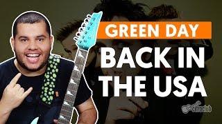 BACK IN THE USA Green Day Aula De Guitarra