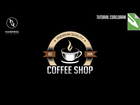 create a cup of coffee based logo with coreldraw x7 please follow my youtube channel for more graphi.