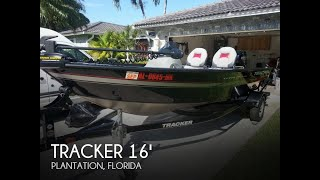 Used 2013 Tracker Super Guide V-16 Sc For Sale In Plantation, Florida