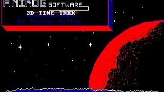 3D Time Trek Review for the Amstrad CPC by John Gage