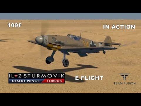 IL2 DESERT WINGS LUCKY E FLIGHT 4K UHD |