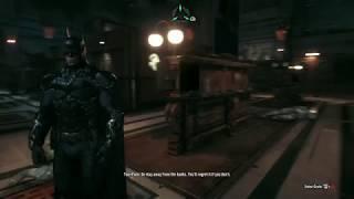 Batman Arkham Knight Walkthrough Gameplay Part 13 - Cobra Tank Battle
