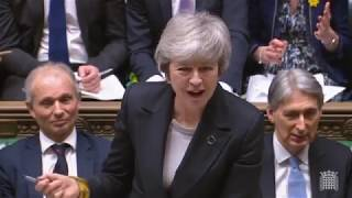 Prime Minister's Questions: 6 March 2019 - knife crime, police numbers, Brexit and more...