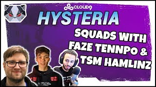 Hysteria | Fortnite Battle Royale - Season 5 - Squads with FaZe Tennp0 and TSM Hamlinz