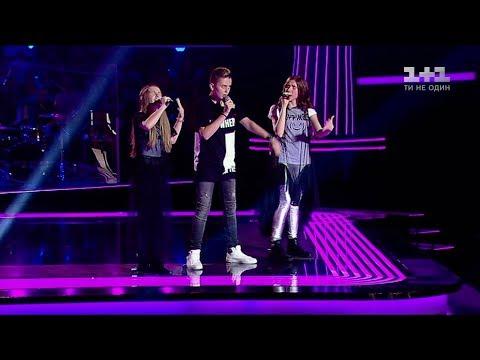 Sofia, Ihor, Maria-Daniela 'Believer' – The battles – Voice.Kids – season 4