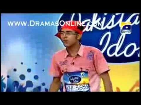Pakistan Idol  Karachi Auditions Daniyaal From Lyari