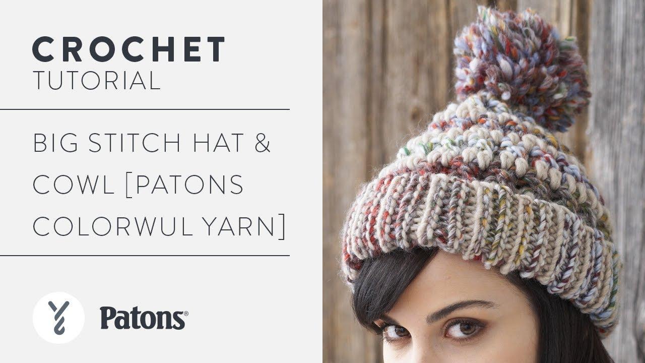 a3641759837 Crochet a Hat  Big Stitch Hat - YouTube