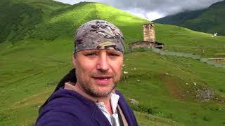 #11 Сванетия. Ушгули. Потерянное село в горах Грузии. Дорога из Ушгули в Местию. Наш день в Сванетии