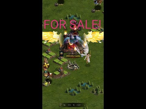 Clash Of Kings P6 Strong Castle For Sale !