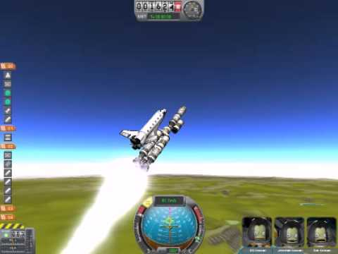 Kerbal Space Program Mod: Discovery Shuttle - YouTube