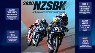 Round 2 Day 1 | 2020 New Zealand Superbike Championship | Motorsport | Sky Sport Next