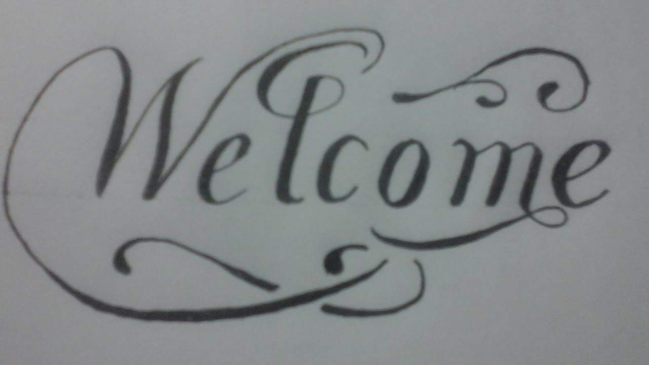 Calligraphy exercises for beginners calligraphy styles welcome