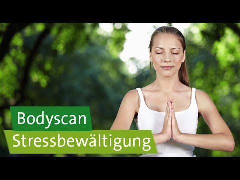 Stressbewältigung – Achtsamkeitsübung: Bodyscan / angeleitete Körperreise