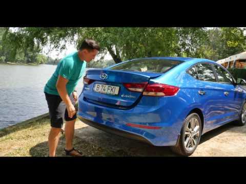 REVIEW Hyundai Elantra The shy girl Cavaleria.ro