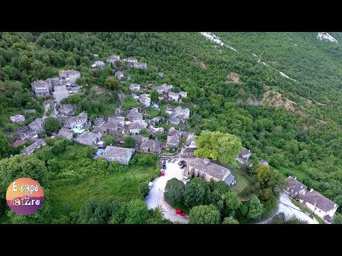 Mikro Papigo, Zagorochoria, Greece # With Drone Scenes # 1080p video
