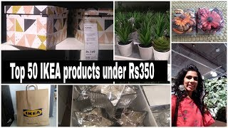 50 Ikea recent product under Rs350 | ikea haul / vlog / blog | Ikea india walkthroug