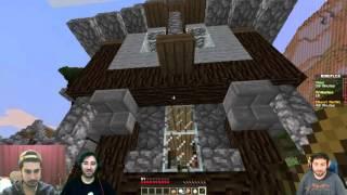 Minecraft - /w Berkay Akçay /w GitarisTv Hunger Games Keyf
