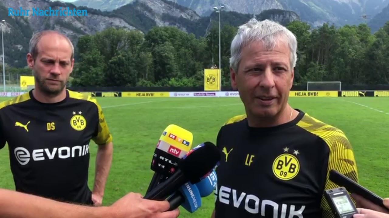 BVB-Trainer Lucien Favre über das 6:0 gegen Zürich