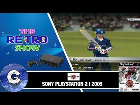 The Retro Show | Brian Lara International Cricket 2005 | Playstation 2 | Retro Games
