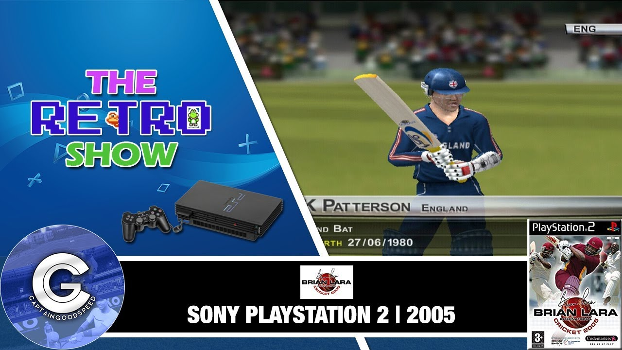 ps2 cricket 2005