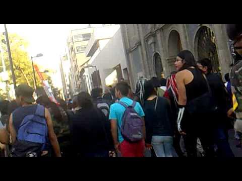 marcha zombie 2014