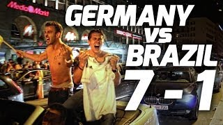 Germany Reacts to Brazil Semifinal