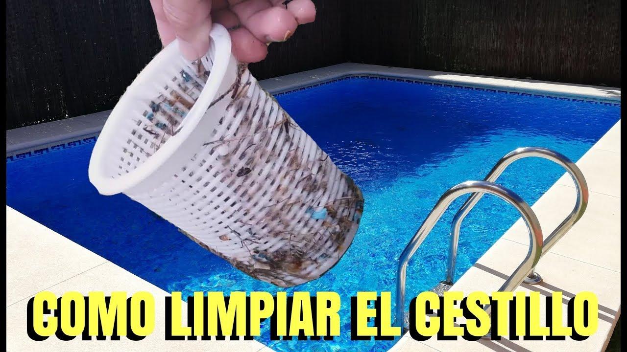 Como Limpiar El Filtro De La Bomba Depuradora Piscina Youtube