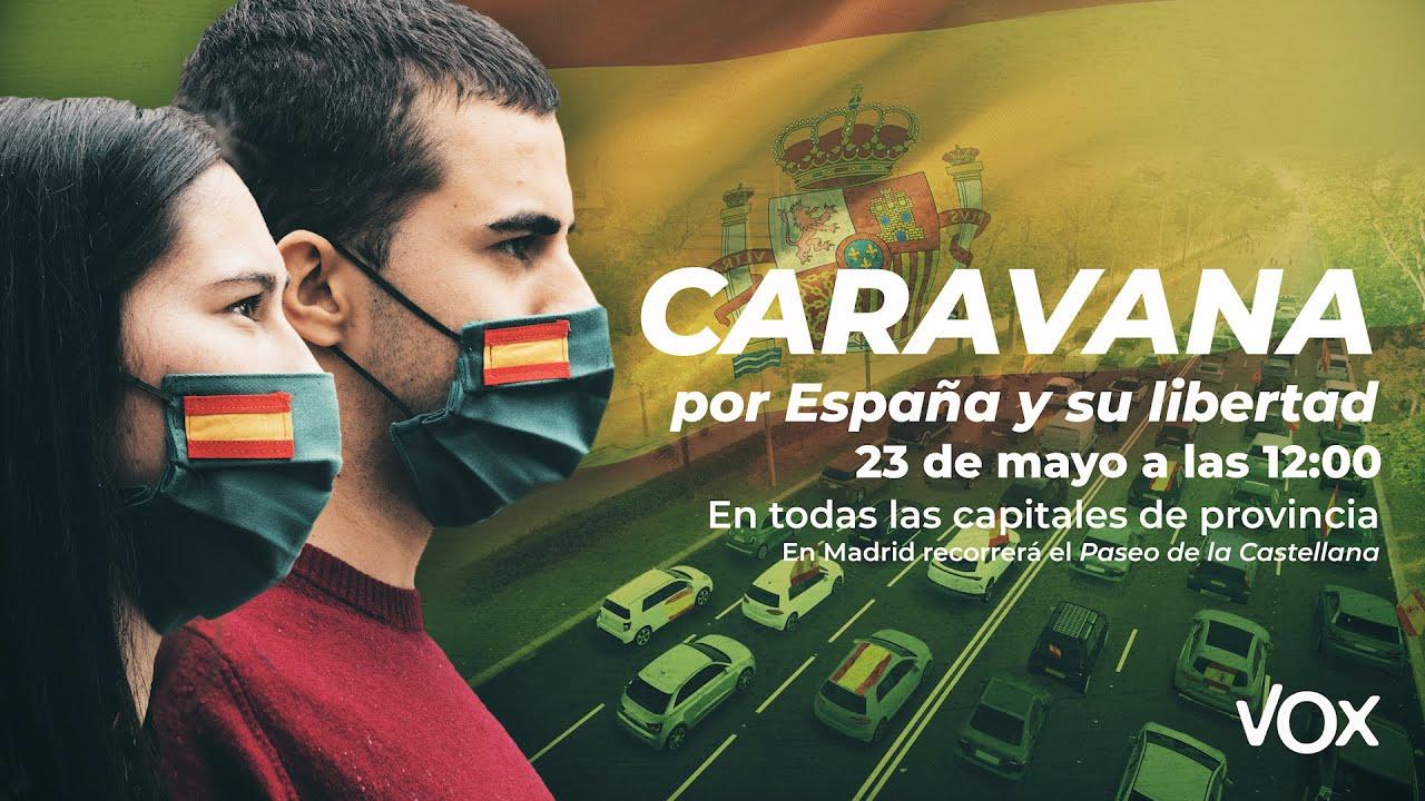 Vídeo para manifestacion Caravana convocada por VOX