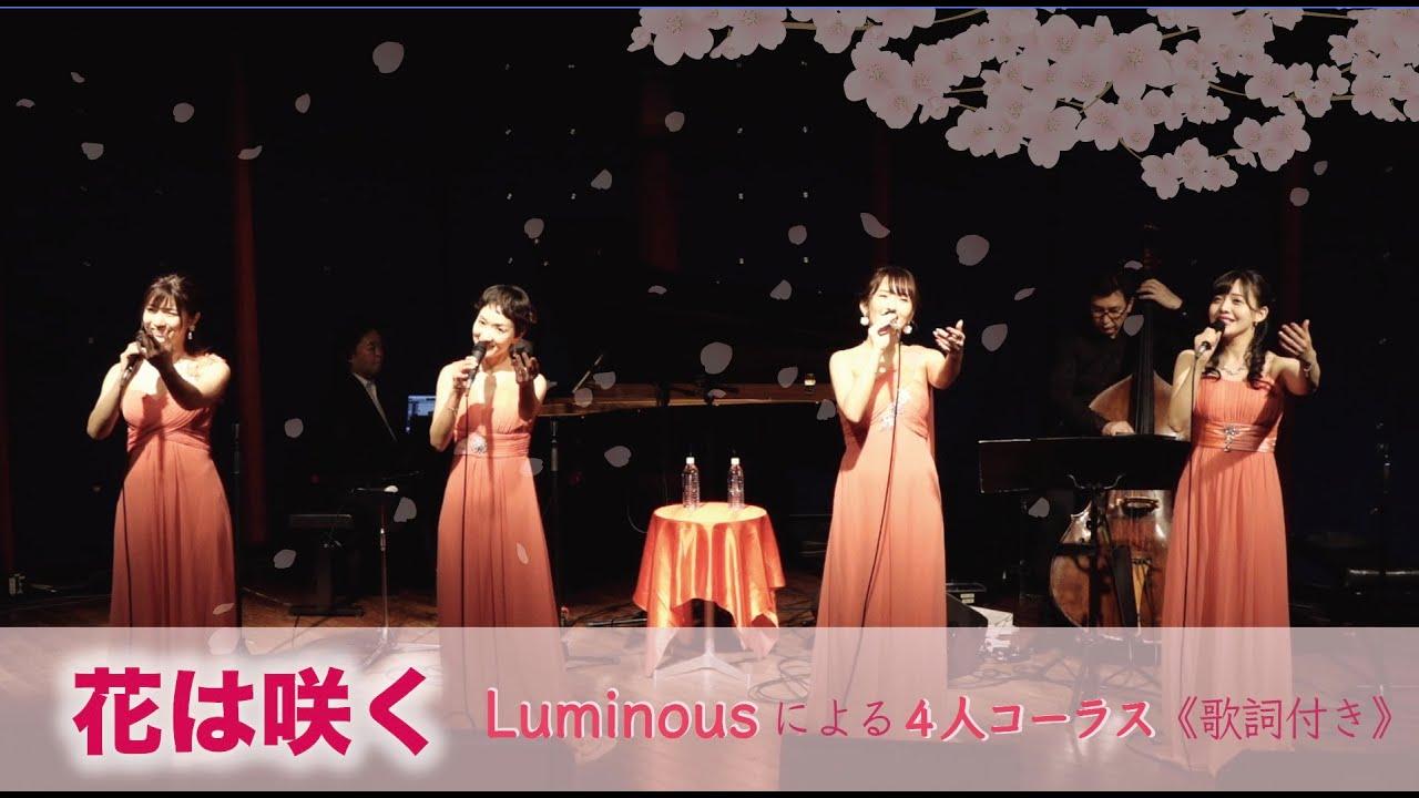 花は咲く《歌詞付き》- Luminous