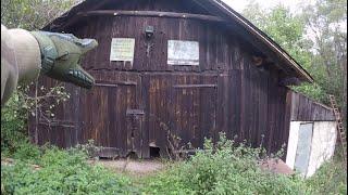 Opuszczony tartak z bardzo starym wyposażeniem- BEZ GRANIC