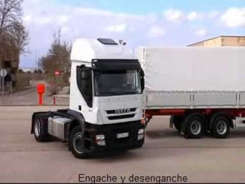 Pruebas Permiso Camión Articulado (Permiso C+E)