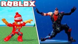 Roblox → COMO FAZER AS DANÇAS DO FORTNITE NO ROBLOX - Fortnite Dance Simulator 🎮