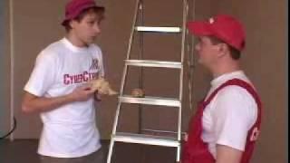 Монтаж подвесного потолка - Видео 2(Особое внимание в видеоролике уделено монтажу реечного потолка. Также на данном видео вы можете ознакомить..., 2010-03-10T17:35:11.000Z)