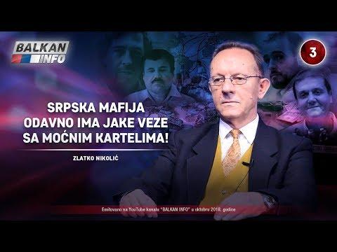 INTERVJU: Zlatko Nikolić - Srpska mafija odavno ima jake veze sa moćnim kartelima! (8.10.2018)
