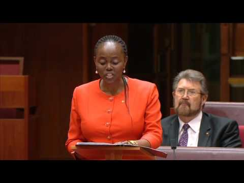 Sen. Lucy Gichuhi (SA-Ind) First Speech (June 21, 2017)